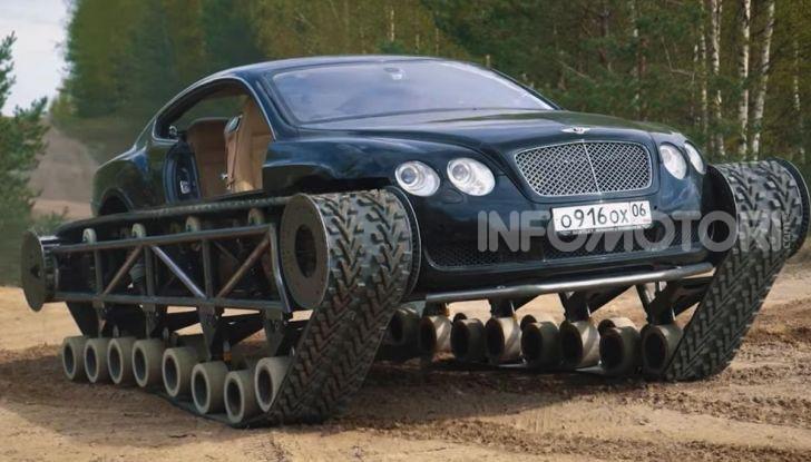 Tuning dalla Russia: ecco la Bentley con il cingolato per andare ovunque - Foto 7 di 32
