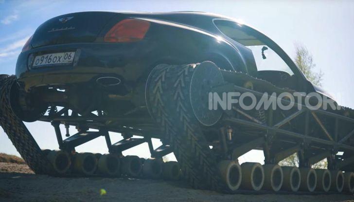 Tuning dalla Russia: ecco la Bentley con il cingolato per andare ovunque - Foto 10 di 32