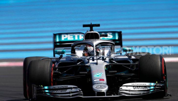 F1 2019 GP di Francia, Paul Ricard: Hamilton vola in qualifica con la Mercedes davanti a Bottas e Leclerc, Vettel solo settimo - Foto 6 di 14