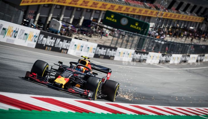 F1 2019 GP Austria, Red Bull Ring: Leclerc e la Ferrari al comando delle libere; Hamilton quarto, Vettel sfiora l'incidente - Foto 1 di 17