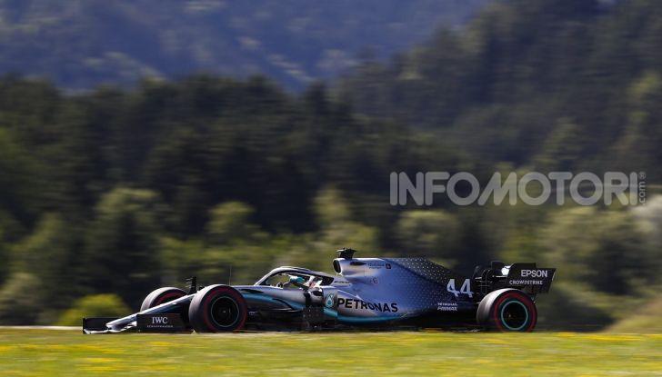 F1 2019 GP Austria, Red Bull Ring: Leclerc e la Ferrari al comando delle libere; Hamilton quarto, Vettel sfiora l'incidente - Foto 11 di 17