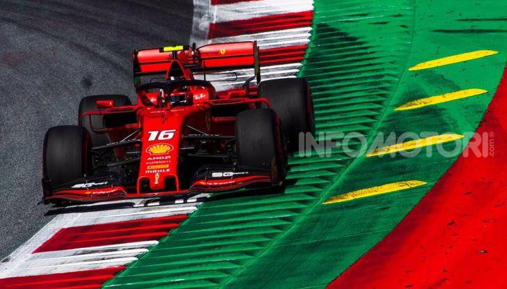 F1 2019 GP Austria, Red Bull Ring: Leclerc e la Ferrari al comando delle libere; Hamilton quarto, Vettel sfiora l'incidente - Foto 6 di 17