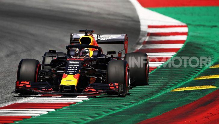 F1 2019 GP Austria, Red Bull Ring: Leclerc e la Ferrari al comando delle libere; Hamilton quarto, Vettel sfiora l'incidente - Foto 2 di 17