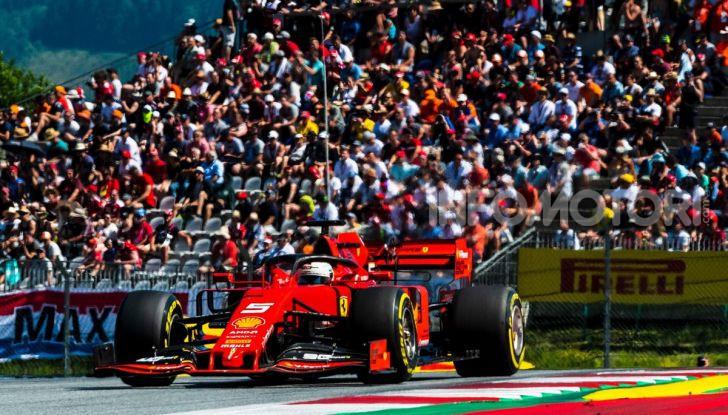 F1 2019 GP Austria, Red Bull Ring: Leclerc e la Ferrari al comando delle libere; Hamilton quarto, Vettel sfiora l'incidente - Foto 9 di 17