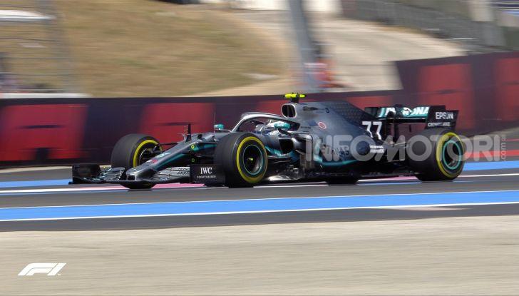F1 2019 GP di Francia, Paul Ricard: Hamilton vola in qualifica con la Mercedes davanti a Bottas e Leclerc, Vettel solo settimo - Foto 5 di 14