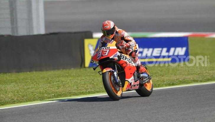 MotoGP 2019 GP d'Italia: Marquez firma il nuovo record del Mugello, Dovizioso solo nono e Rossi 18esimo - Foto 7 di 64