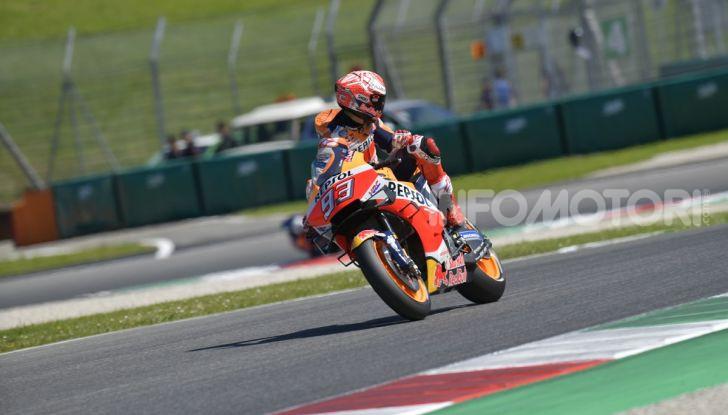 MotoGP 2019 GP d'Italia: Marquez firma il nuovo record del Mugello, Dovizioso solo nono e Rossi 18esimo - Foto 23 di 64