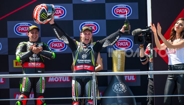 SBK 2019 GP di San Marino: le più belle immagini del round di Misano - Foto 16 di 39