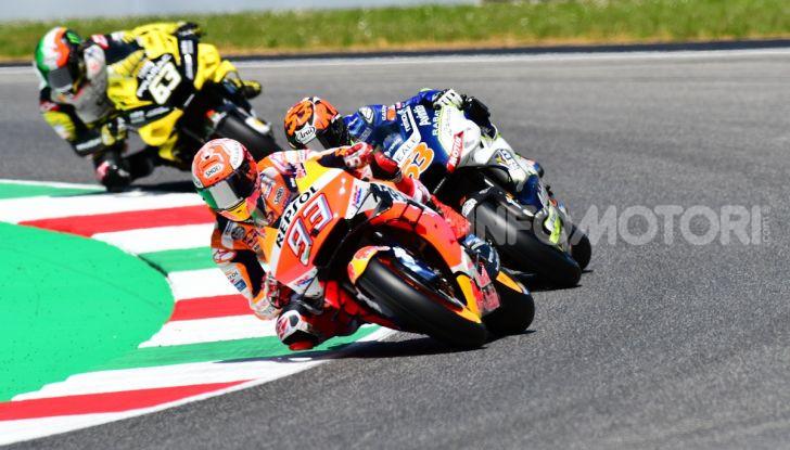 MotoGP 2019 GP d'Italia: Marquez firma il nuovo record del Mugello, Dovizioso solo nono e Rossi 18esimo - Foto 28 di 64