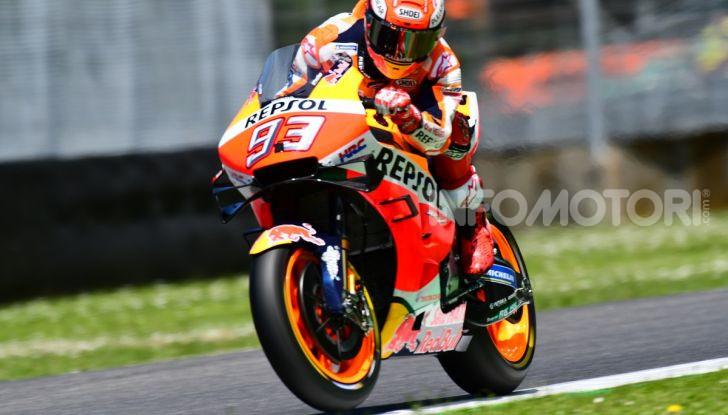 MotoGP 2019 GP d'Italia: Marquez firma il nuovo record del Mugello, Dovizioso solo nono e Rossi 18esimo - Foto 34 di 64