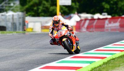 MotoGP 2019 GP d'Italia: Marquez firma il nuovo record del Mugello, Dovizioso solo nono e Rossi 18esimo