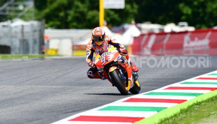 MotoGP 2019 GP d'Italia: Marquez firma il nuovo record del Mugello, Dovizioso solo nono e Rossi 18esimo - Foto 49 di 64