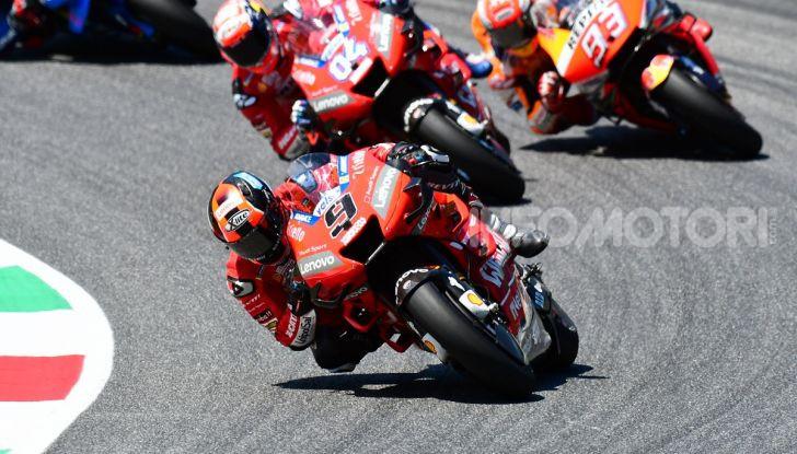 MotoGP 2019 GP d'Italia: Petrucci trionfa al Mugello davanti a Marquez e Dovizioso, Rossi a terra - Foto 41 di 52