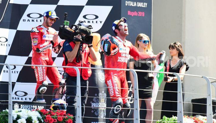 MotoGP 2019 GP d'Italia: Petrucci trionfa al Mugello davanti a Marquez e Dovizioso, Rossi a terra - Foto 47 di 52