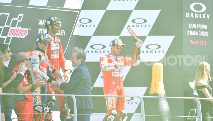 MotoGP 2019 GP d'Italia: Petrucci trionfa al Mugello davanti a Marquez e Dovizioso, Rossi a terra - Foto 48 di 52