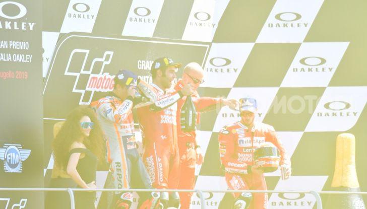 MotoGP 2019 GP d'Italia: Petrucci trionfa al Mugello davanti a Marquez e Dovizioso, Rossi a terra - Foto 50 di 52