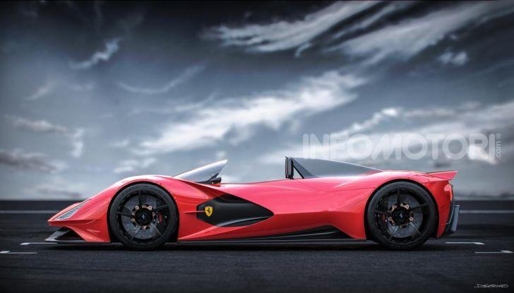 Ferrari Aliante Barchetta, pura e bellissima con un 12 cilindri aspirato - Foto 12 di 12