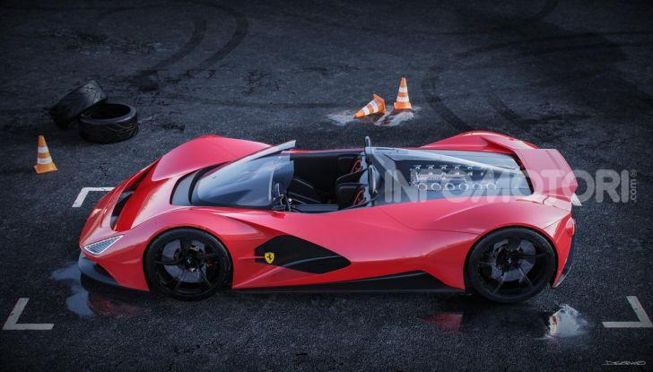 Ferrari Aliante Barchetta, pura e bellissima con un 12 cilindri aspirato - Foto 7 di 12