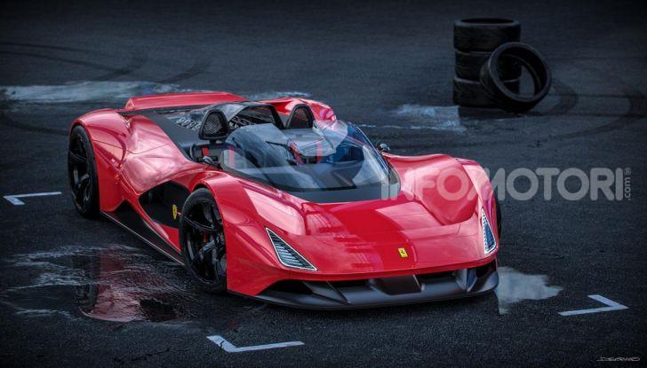 Ferrari Aliante Barchetta, pura e bellissima con un 12 cilindri aspirato - Foto 8 di 12