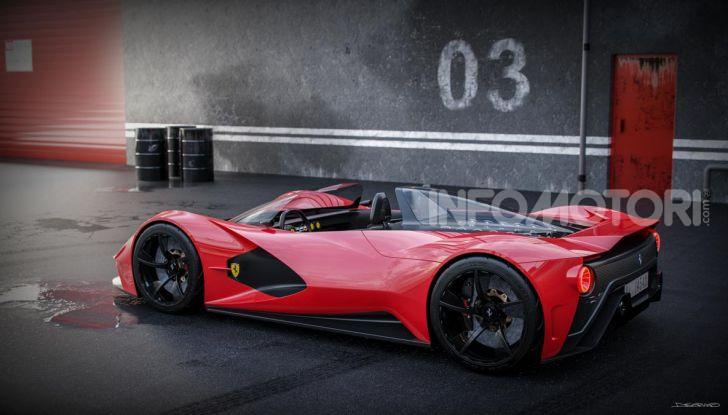 Ferrari Aliante Barchetta, pura e bellissima con un 12 cilindri aspirato - Foto 4 di 12
