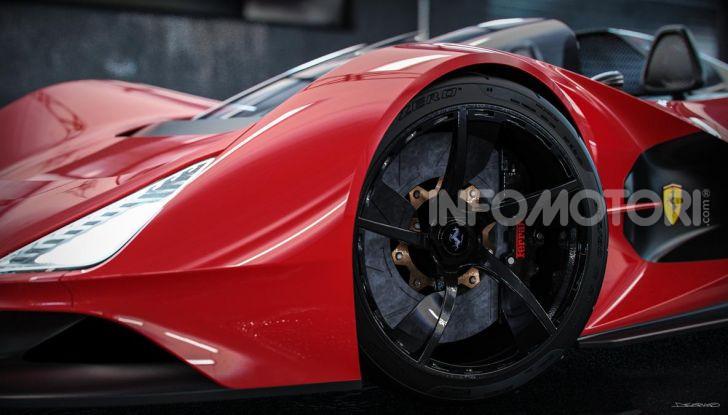 Ferrari Aliante Barchetta, pura e bellissima con un 12 cilindri aspirato - Foto 5 di 12