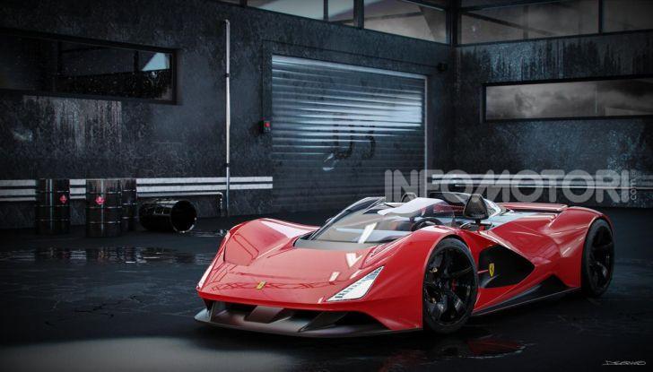 Ferrari Aliante Barchetta, pura e bellissima con un 12 cilindri aspirato - Foto 11 di 12