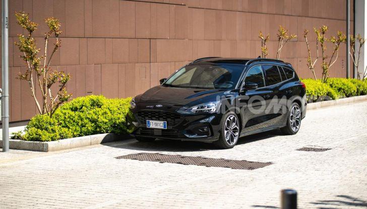 Prova Ford Focus Wagon 1.5 EcoBoost ST Line: per papà sportivi, ma non solo! - Foto 7 di 33