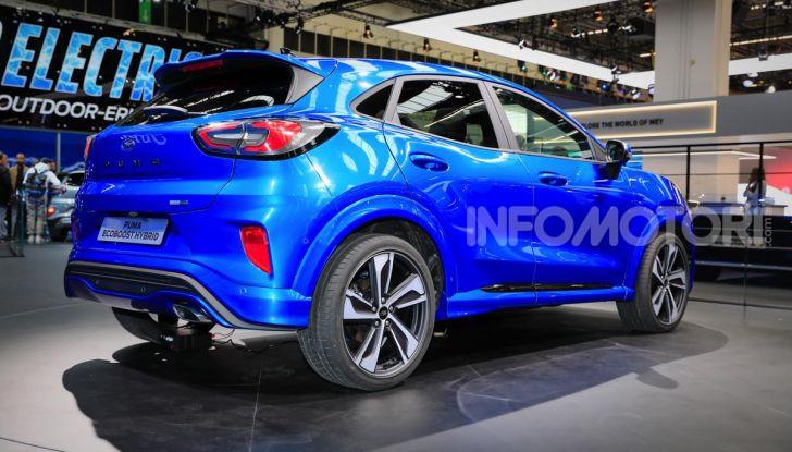 Nuova Ford Puma: il crossover che studia da SUV - Foto 13 di 21