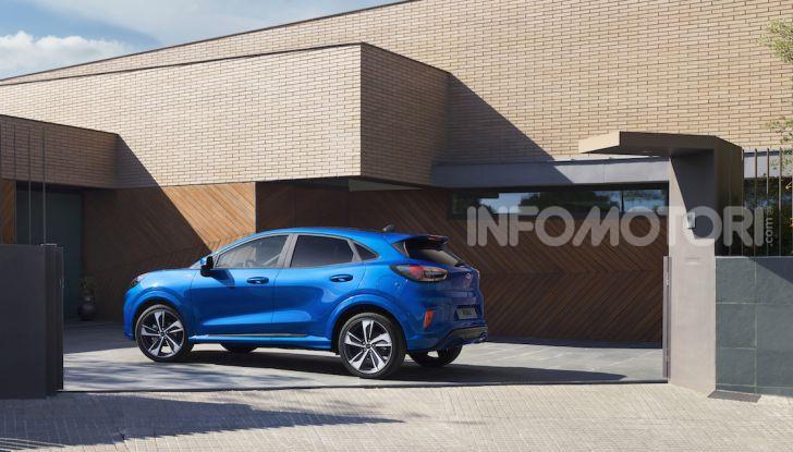 Nuova Ford Puma: il crossover che studia da SUV - Foto 14 di 21