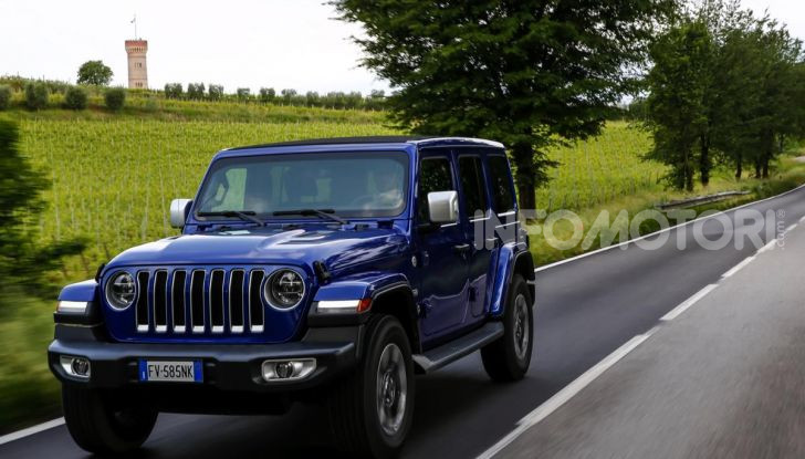 [VIDEO] Prova in fuoristrada del nuovo Jeep Wrangler Rubicon 2019 - Foto 16 di 20