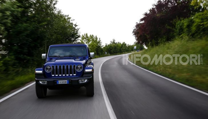 [VIDEO] Prova in fuoristrada del nuovo Jeep Wrangler Rubicon 2019 - Foto 17 di 20