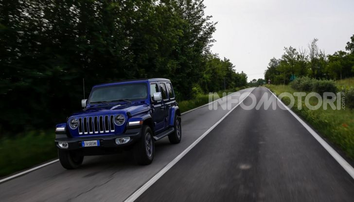 [VIDEO] Prova in fuoristrada del nuovo Jeep Wrangler Rubicon 2019 - Foto 14 di 20