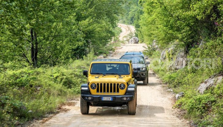 [VIDEO] Prova in fuoristrada del nuovo Jeep Wrangler Rubicon 2019 - Foto 18 di 20