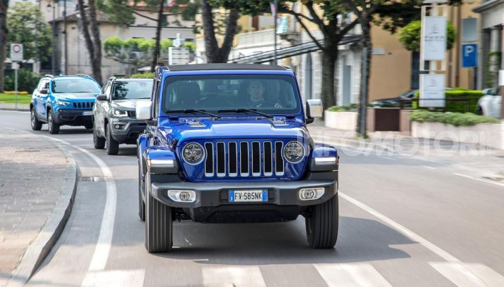 [VIDEO] Prova in fuoristrada del nuovo Jeep Wrangler Rubicon 2019 - Foto 20 di 20
