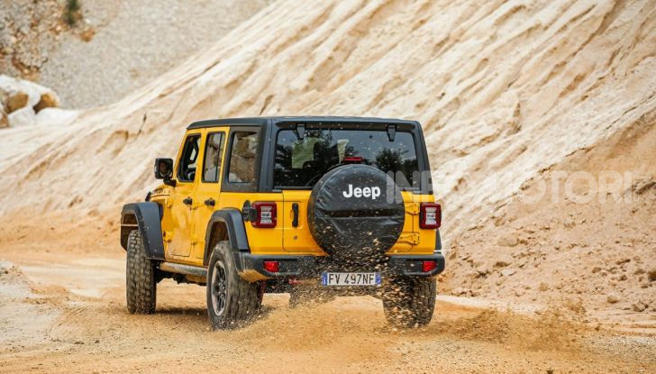 [VIDEO] Prova in fuoristrada del nuovo Jeep Wrangler Rubicon 2019 - Foto 6 di 20
