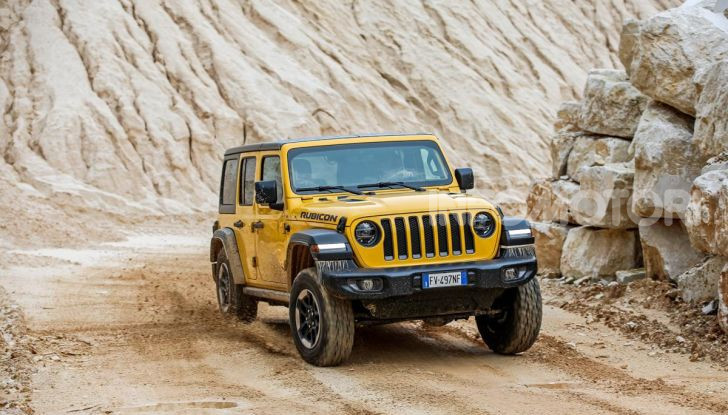 [VIDEO] Prova in fuoristrada del nuovo Jeep Wrangler Rubicon 2019 - Foto 3 di 20