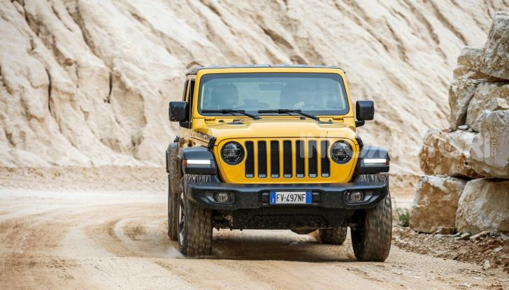 [VIDEO] Prova in fuoristrada del nuovo Jeep Wrangler Rubicon 2019 - Foto 7 di 20