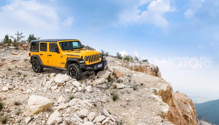[VIDEO] Prova in fuoristrada del nuovo Jeep Wrangler Rubicon 2019 - Foto 5 di 20