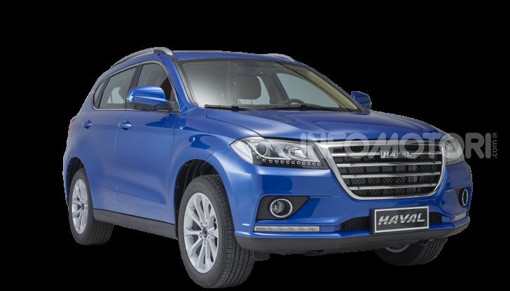 Haval H2, il nuovo SUV compatto bifuel del marchio di Great Wall - Foto 11 di 24