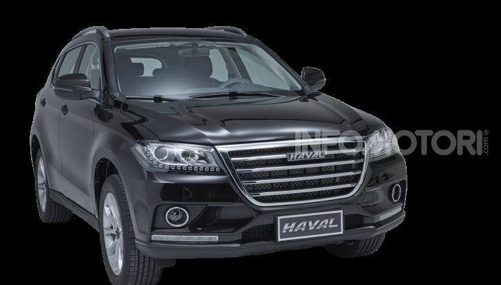 Haval H2, il nuovo SUV compatto bifuel del marchio di Great Wall - Foto 20 di 24