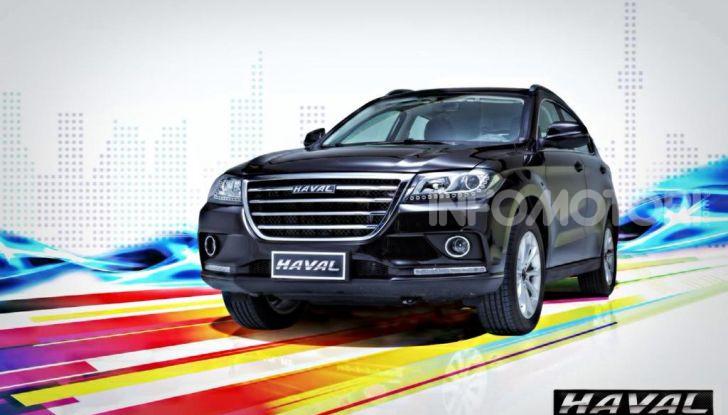 Haval H2, il nuovo SUV compatto bifuel del marchio di Great Wall - Foto 6 di 24