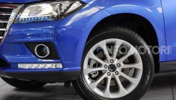 Haval H2, il nuovo SUV compatto bifuel del marchio di Great Wall - Foto 7 di 24