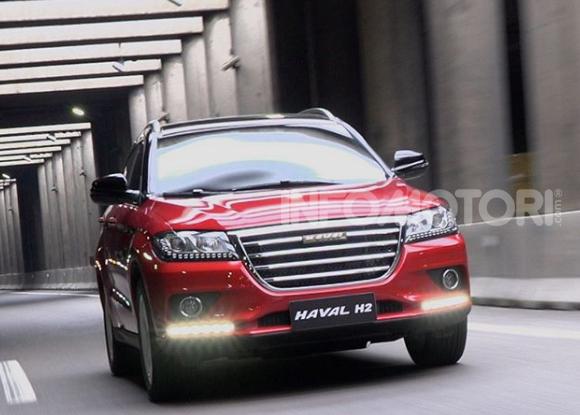 Haval H2, il nuovo SUV compatto bifuel del marchio di Great Wall - Foto 1 di 24
