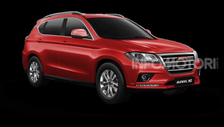 Haval H2, il nuovo SUV compatto bifuel del marchio di Great Wall - Foto 9 di 24