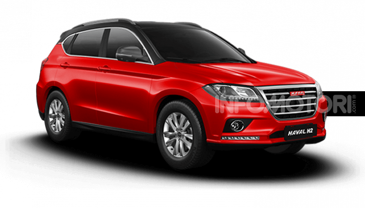 Haval H2, il nuovo SUV compatto bifuel del marchio di Great Wall - Foto 23 di 24