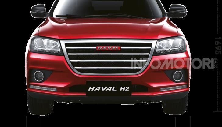 Haval H2, il nuovo SUV compatto bifuel del marchio di Great Wall - Foto 16 di 24