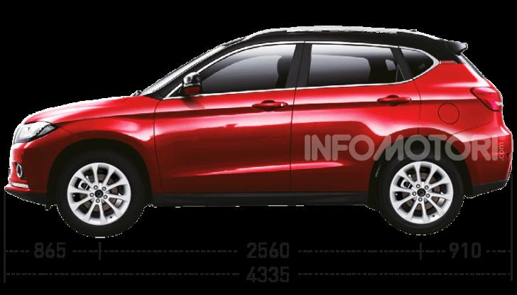 Haval H2, il nuovo SUV compatto bifuel del marchio di Great Wall - Foto 18 di 24