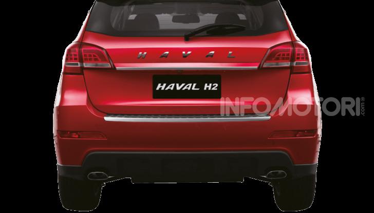 Haval H2, il nuovo SUV compatto bifuel del marchio di Great Wall - Foto 19 di 24