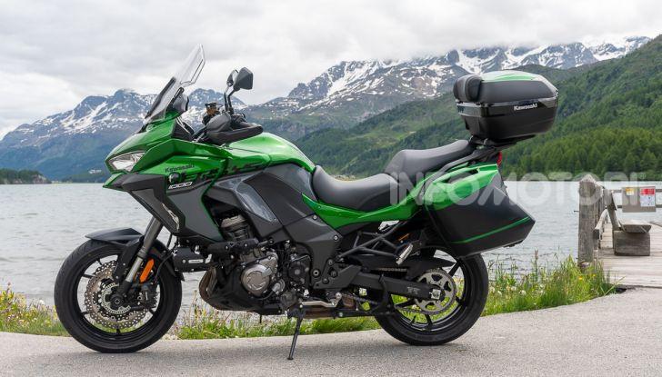 Prova Kawasaki Versys 1000 SE 2019, i 46 gradi più facili e comodi al mondo? - Foto 3 di 44