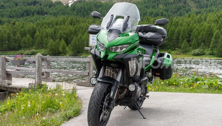 Prova Kawasaki Versys 1000 SE 2019, i 46 gradi più facili e comodi al mondo? - Foto 6 di 44